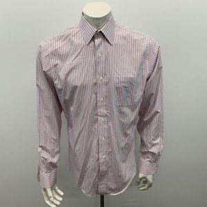 Brooks Brothers Men's Dress Shirt Size 15 1/2 Slim